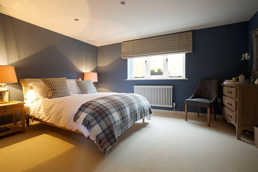 Bedroom at The Packhorse Inn