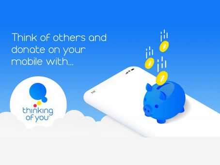 Leading UK charities help launch Thinking of You, the world's most thoughtful donation app