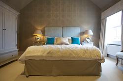 Double super king bed in the Warren Room