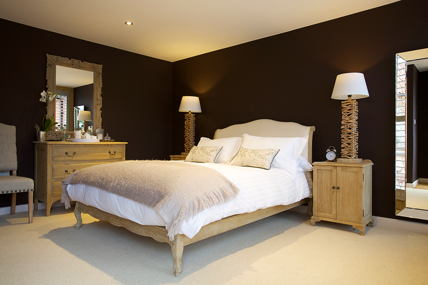 Double King bed in the Lark Room