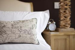 Pillows in the lark room