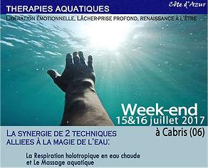 Respiration holotropique en eaux chaudes - Psychothérapie Var - Arnaud Messieux - www.psyvar.fr