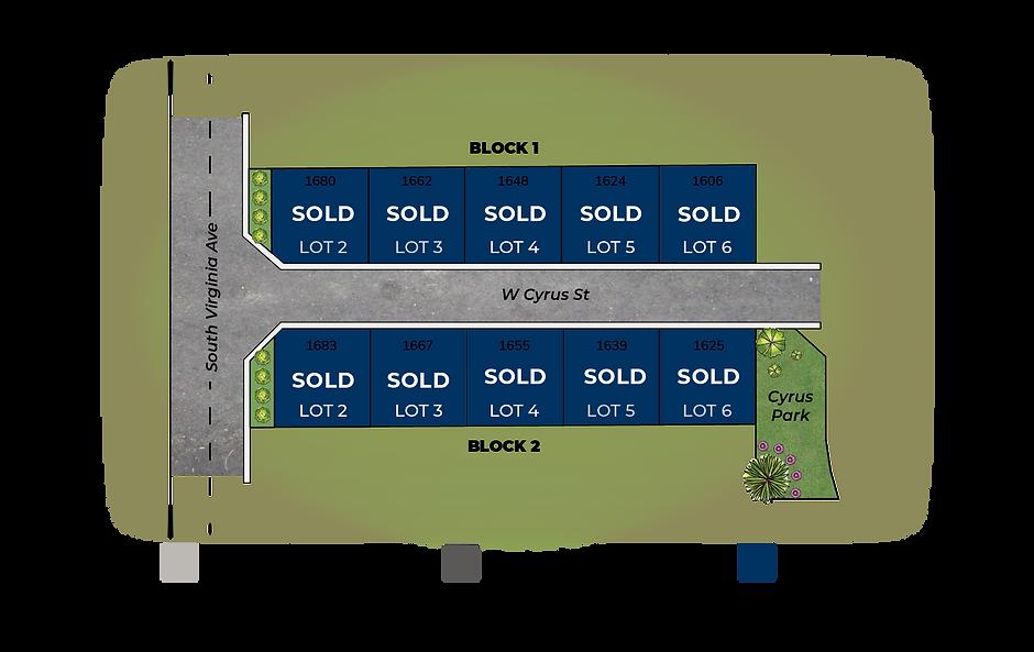 Cyrus Estates Plat Map Availability-9-11