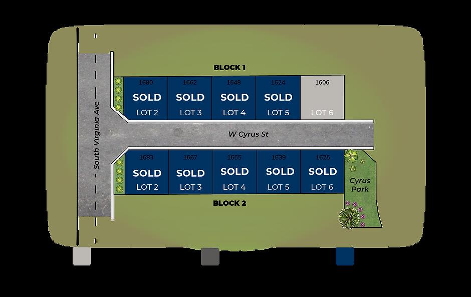 Cyrus Estates Plat Map Availability-9-21