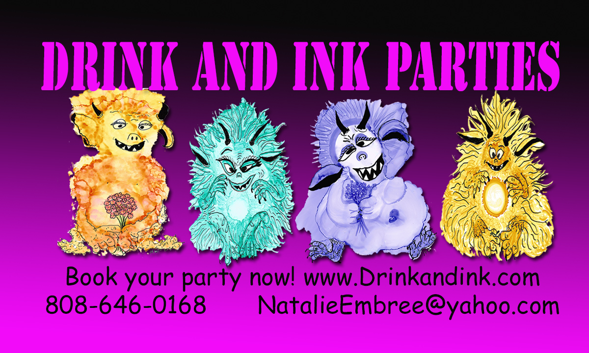 Drink and Ink Parties