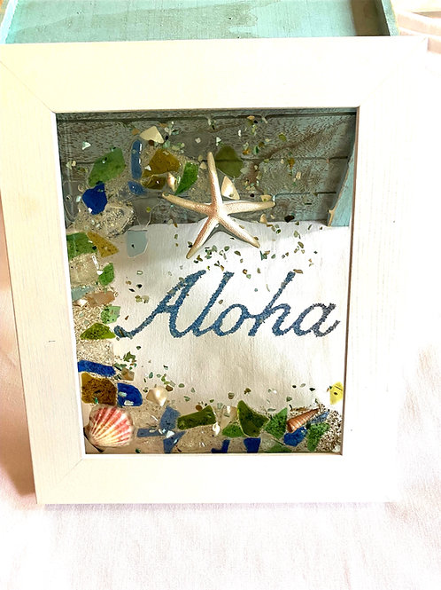 Aloha sea glass picture window