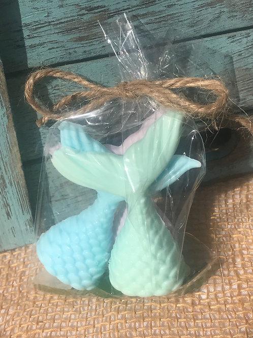 Mermaid soap coconut scent