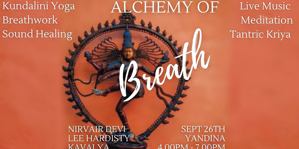 Alchemy of Breath 3 Hour Journey suported Live music with Lee Hardisty