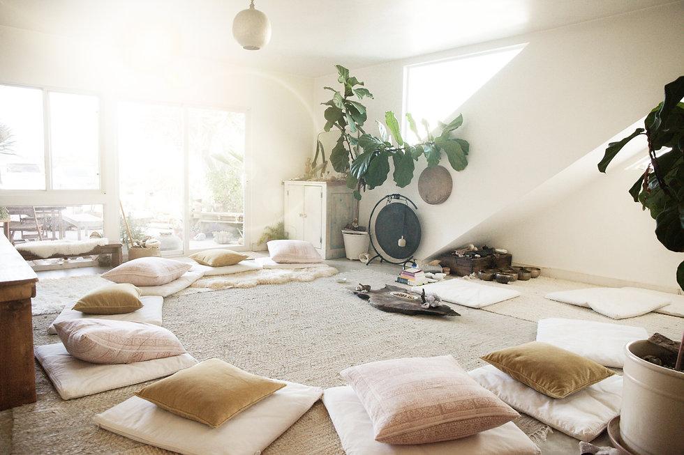 A meditation space