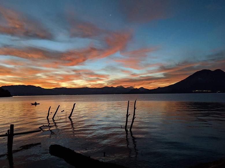 Sunrise on Lake Atitlan