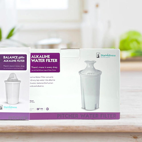Alkaline water pitcher filters (Set of 3)