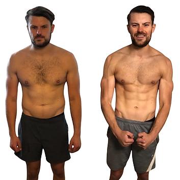 Body transformation - Sam - LEP Life