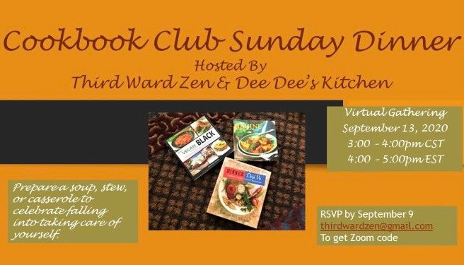 Virtual Cookbook Club Sunday Dinner #2