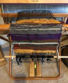 #2 Fiber Art Threads of Gratitude: Celebrating My Weaver's Spirit