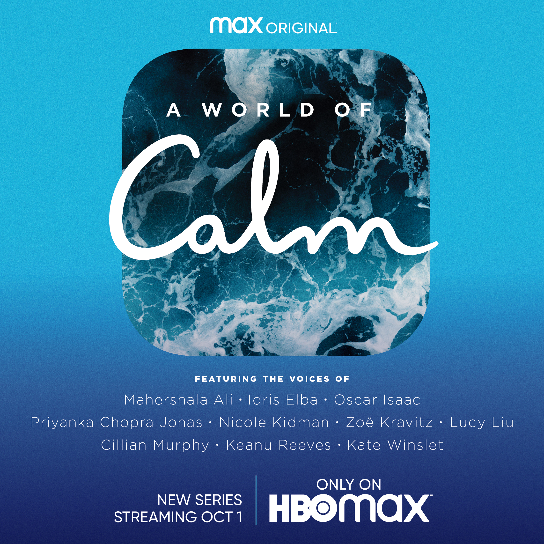 I wrote for HBO series A WORLD OF CALM