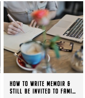 I'm teaching a 2-day memoir workshop!