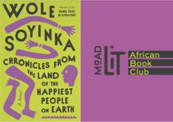 African Book Club Oct. '21: Novel by Wole Soyinka