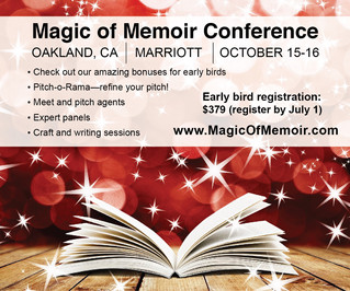 Oakland Magic of Memoir Conference + SF LitCrawl on same weekend!