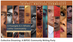 BIPOC Writing Party Featured in ROOM Magazine!