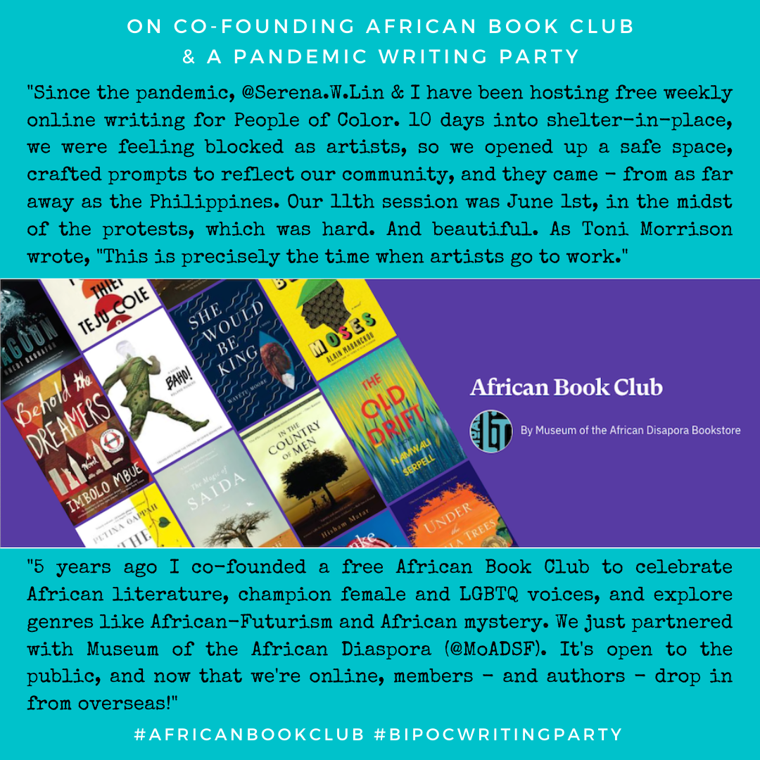 BIPOC Writing Group + African Book Club