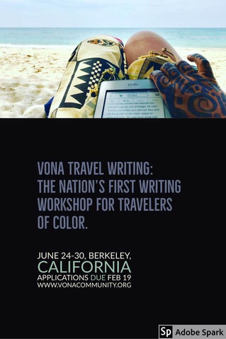 11 more days to apply for VONA Travel Writing!