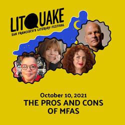 Litquake 2021 Panel, October 10