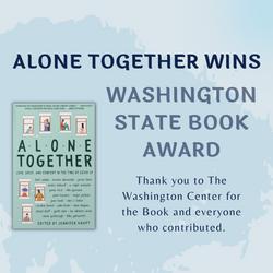 Alone Together Anthology Wins Award!
