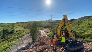 Working with the Professionals - Trail Care does not offer trailbuilding services; we assist our clients in engaging and working with professional trailbuilder firms