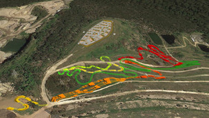 Concept Design - Trail Care provided the initial concept design for Bare Creek Bike Park, construction of which will be completed in 2020