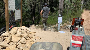 Volunteer Trail Maintenance - Trail Care coordinates and implements volunteer trail maintenance for clients including NPWS (pictured here) and Northern Beaches Council