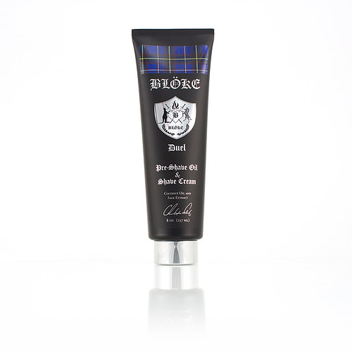 Pre-Shave Oil + Shave Cream