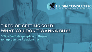 Tired of Getting Sold What You Don't WannaBuy?