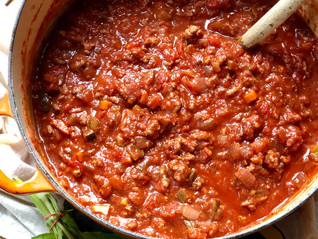Weeknight Turkey Bolognese
