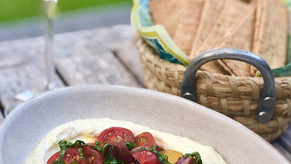 Whipped Feta with Marinated Tomatoes