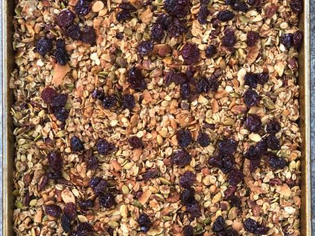 Maple COCOnut Granola