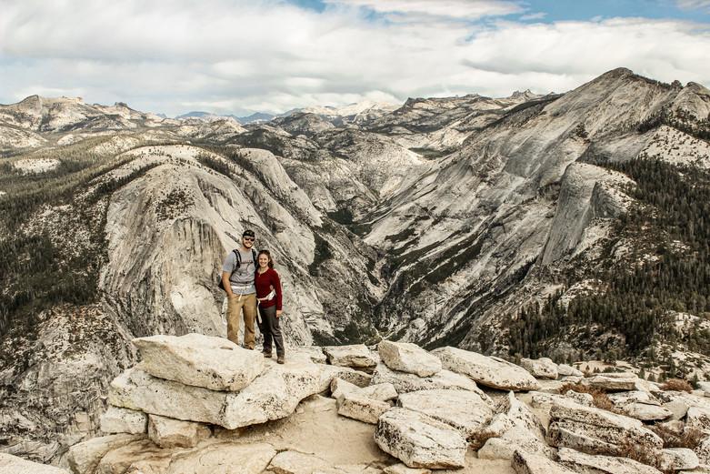 Olivia & Colton Hale - Yosemite NP (Half Dome)