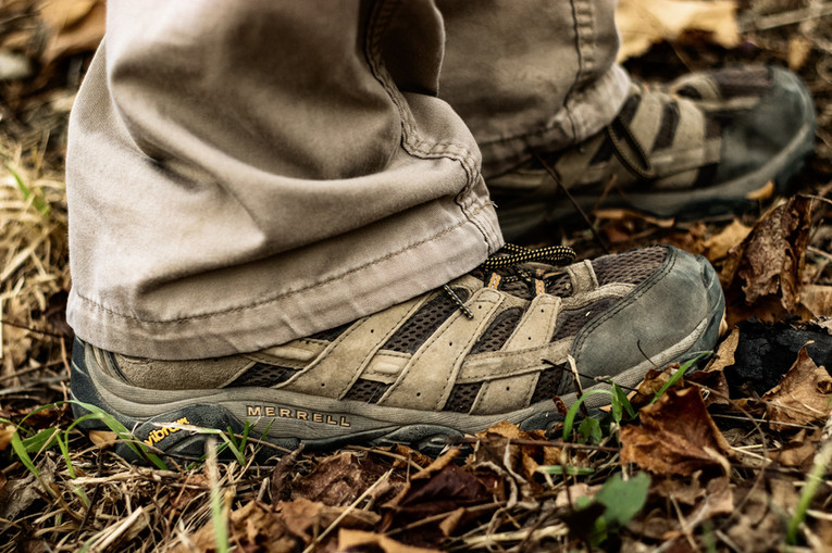 Colton Hale - Merrell Hiking Boots