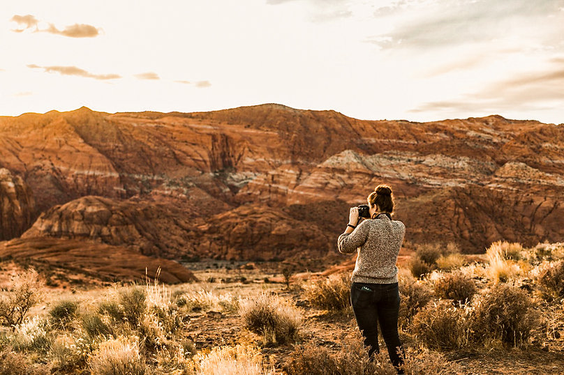 Photography in Zion Np