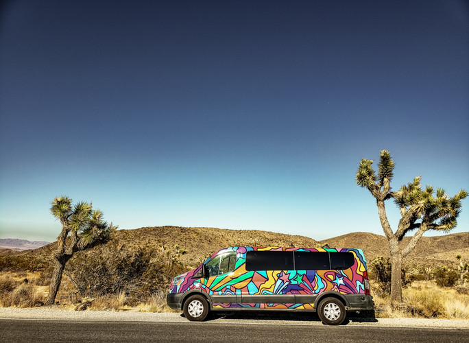 "Our Cute ""Big Sur"" Campervan"