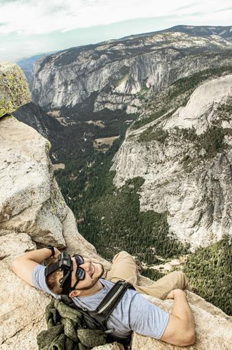 Colton Hale - Top of Half Dome @ Yosemite NP