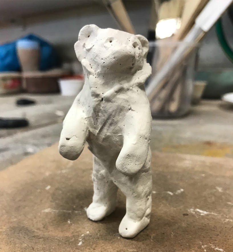 Little bear in progress