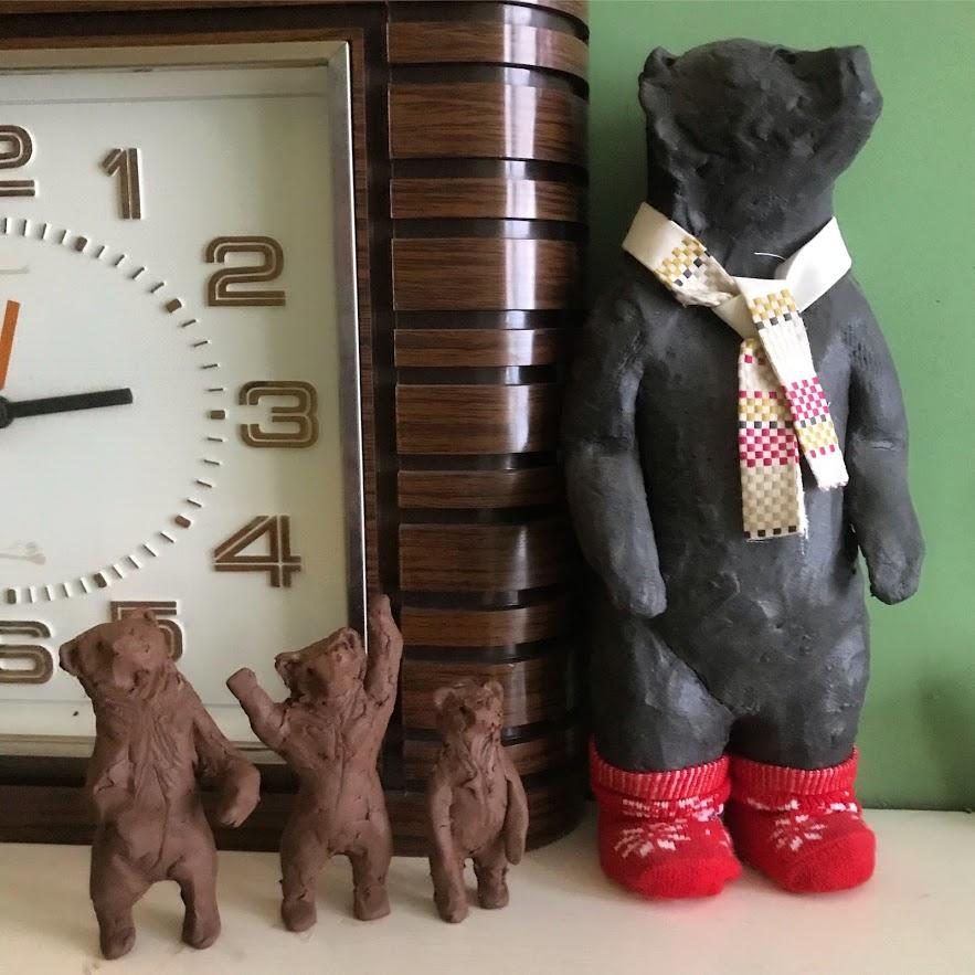 Big bear little bears in progress