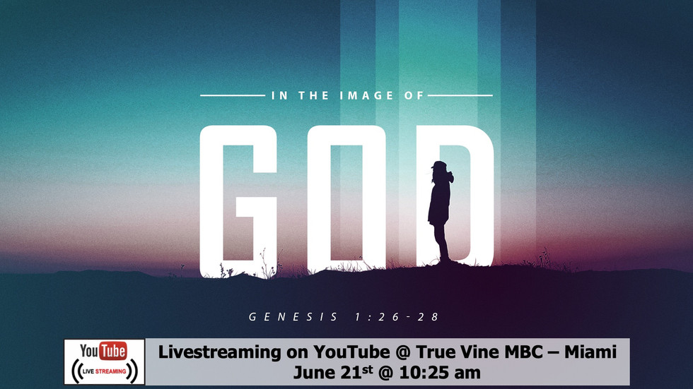In The Image Of God - Genesis 1:26-286-28 (e