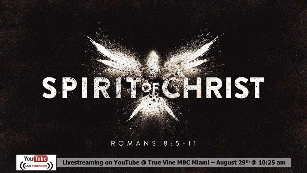 The Spirit of Christ - Romans 8:5-11