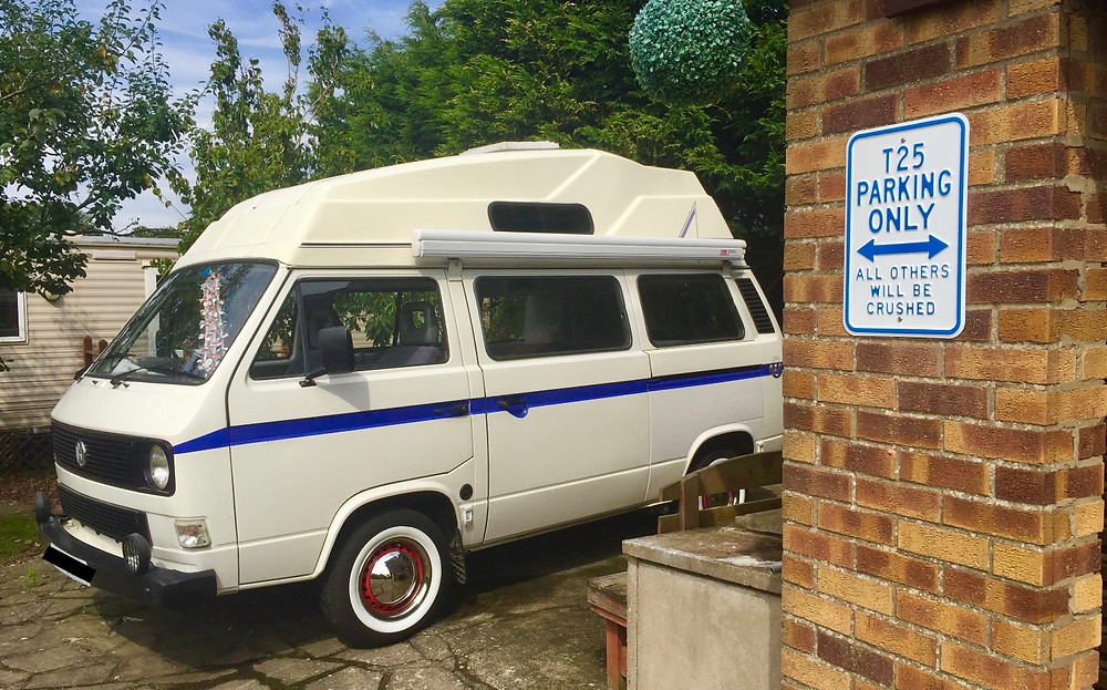 Campy the VW T25 High top