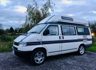 Living and working in a VW T4 Trophy.