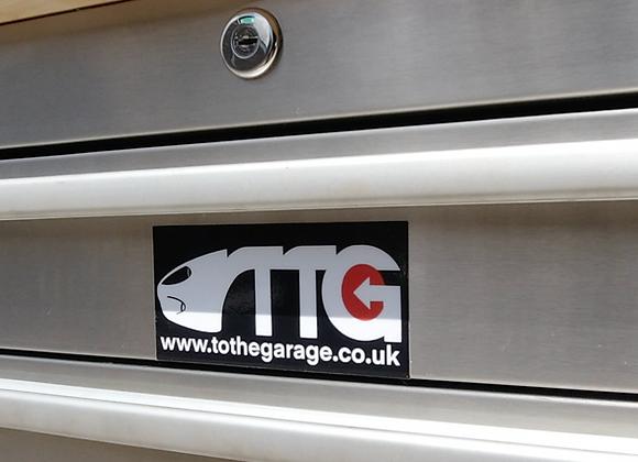 T.T.G. Exterior Sticker