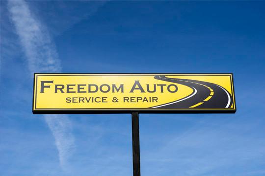 Sign Auto Repair in Hixson