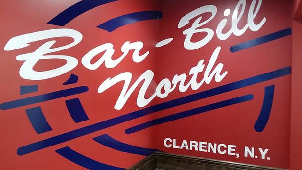 Bar-Bill North - Mural
