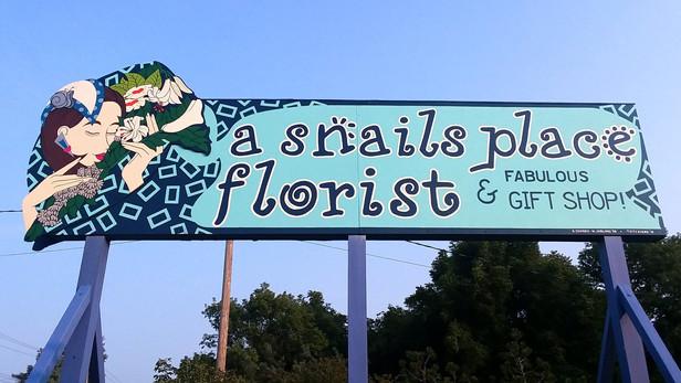A Snails Place - Sign Restoration